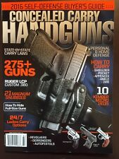 Concealed Carry Handguns Carry Laws How Tos Home Defense #184 2016 FREE SHIPPING