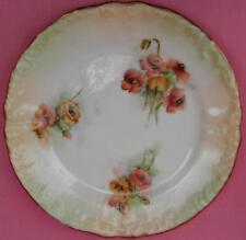 Nautilus Porcelaine POPPY Tea Plaque possil poterie peint à la main