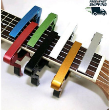 Guitar Capo Acoustic Clip Ukulele Bass String Instrument Clamp Fret Electric US