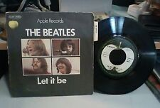 "THE BEATLES ""LET IT BE/YOU KNOW MAY NAME"" APPLE 04353 FRANCE"