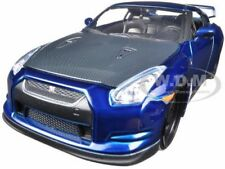 "BRIAN'S 2009 NISSAN GTR R35 BLUE ""FAST & FURIOUS "" MOVIE 1/24 BY JADA 97036"