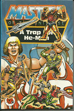 Ladybird Masters Of The Universe A Trap For He-Man story book For The Real Fan!