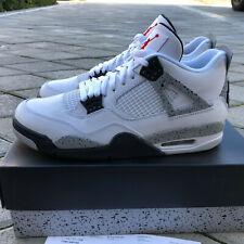 size 40 901c0 32691 Air Jordan 4 IV White Cement RETRO BRAND NEW MENS SIZE 10.5 2016