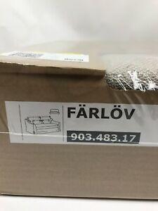 Ikea FARLOV Loveseat (2 seat Sofa) Cover Slipcover FLODAFOR BEIGE New 903.483.17