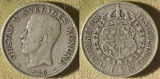 Sweden : 1926W 1 Kr. VF-XF #786.2 IR9604