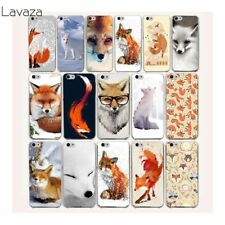 Fox lovely cute cover Back Hard Case for iPhone case XS MAX 5 5s 8 X 7 6 6s Plus