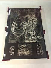 PITT #14 artwork - huge POSTER ACETATE, DALE KEOWN, FULL BLEED, WICKED COOL