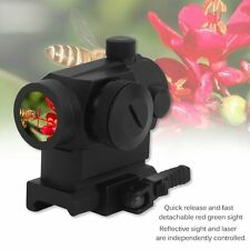 Tactical Micro Reflex Red Green Dot Scope Sight with QD Quick Riser Mount OY