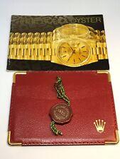 Vintage Rolex Oyster Paper Set Booklet 1997 Rolex Hang Tag
