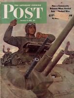 1943 Saturday Evening Post January 9-China Prison; Duquesne Chick Davies; Dogs