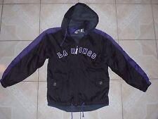 CCM Los Angeles Kings NHL Hockey Jacket Sewn Logos Junior Large