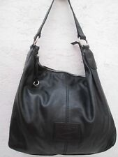 Joli sac à main The Bridge style seau en cuir noir vintage bag /