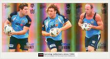 2007 SELECT NRL CHAMPIONS CARDS HOLOFOIL TEAM SET: Titans (12)