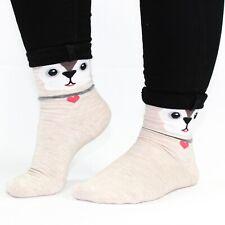 Medias y calcetines de mujer de color crema de algodón