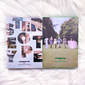 STAYC - STEREOTYPE (1ST MINI ALBUM) NO PHOTOCARD SELECT VER KPOP US
