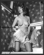 YGST-2053 VINTAGE 1960'S 7X10 ART NUDE BRITISH BUXOM MODEL SHOT BY RUSSELL GAY