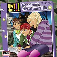 DIE DREI !!! - 042/GEHEIMNIS DER ALTEN VILLA  CD NEU