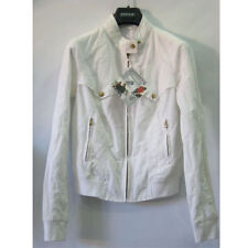 GIACCA BREMA 305 BOMBER STEEL LOGO DONNA BIANCO TG.42