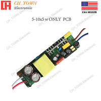 60W 18-30x3W Constant Current Power Supply LED Driver For Light DC 54-105V 600mA