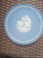 A Lot of  WEDGWOOD JASPERWARE BLUE ON WHITE 1979,1973,1978 MOTHER'S DAY PLATE