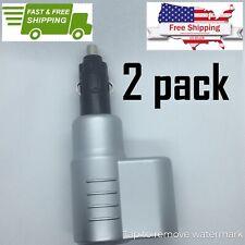 2 PACK Dual Plug Vehicle Lighter Socket 12v Splitter Free Same Day Shipping USA
