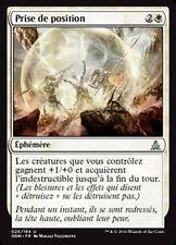 MTG Magic OGW - (x4) Make a Stand/Prise de position, French/VF
