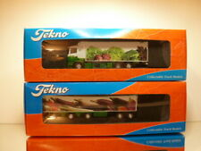 TEKNO HOLLAND 5206S SCANIA + 5 AXLES TRAILER - GREENERY 1:50 - EXCELLENT IN BOX