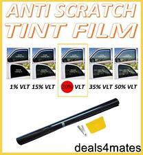 NON-SCRATCH PROFESSIONAL CAR WINDOW TINT FILM DARK BLACK  20% 76cm x 3M