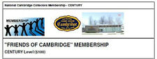 "NCC ""Friends of Cambridge"" Membership - Century Level"