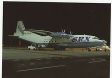 SRX Transcontinental AN-12B Aviation Postcard, A709