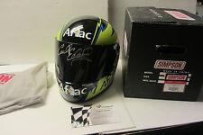 Carl Edwards SIGNED AFLAC Simpson Full Size Replica Helmet Global Authentics COA