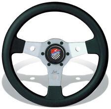 FIAT 500 F/L/R VOLANTE SPORTIVO LUISI FALCON DA 31mm + CLACSON LOGO GIANNINI