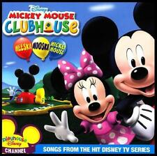 MICKEY MOUSE CLUBHOUSE - MEESKA MOOSKA DISNEY CD ~ WALT~DONALD DUCK~PLUTO *NEW*