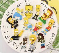 Mix The Simpsons Minion Fashion Bandit Badges Acrylic Pins Brooch