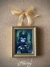 2014 Jasmine Becket Griffith Disney MALEFICENTWonderGround Framed Mini Canvas