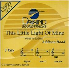 New: Addison Road: This Little Light Of Mine [Accompaniment/Performance Track]