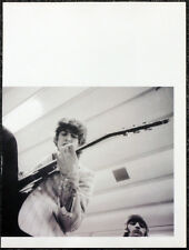 THE BEATLES POSTER PAGE . GEORGE HARRISON 1966 BACKSTAGE BUDOKAN HALL TOKYO .U53