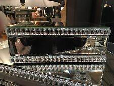 VETRO veneziano perla dettaglio PORTAGIOIE SPECCHIO 10 cm H x 26 CM W X 18 cm D