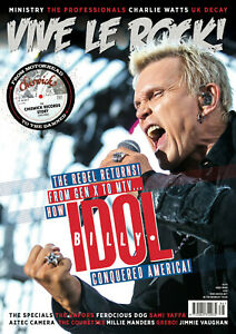 VIVE LE ROCK Magazine 86: Billy Idol, Specials, Vapors, UK Decay : in stock