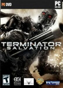 Terminator Salvation   an intense action-packed third-person shooter for PC  NEW