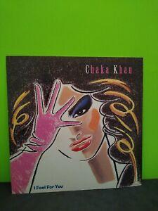 Chaka Khan I Feel For You LP Flat Promo 12x12 Poster