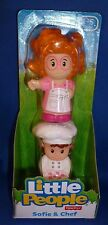 Fisher Price Little People 2014 Bakery fold go Chef Sofie new