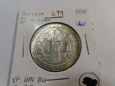 New ListingL79 Austria 1955 2 00004000 5 Schilling Bu