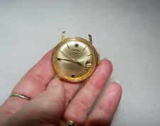 VULCAIN MENS WATCH VINTAGE 17 JEWELS AUTOMATIC~DATE~STOPS & GOS