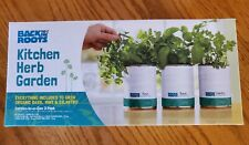 New Herb garden, basil, cilantro, mint cooking. Complete kit *Free Shipping*