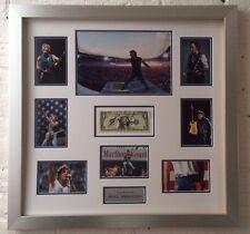"Bruce Springsteen FRAMED Autograph Signed ""One Dollar Bill"" AFTAL COA (B)"