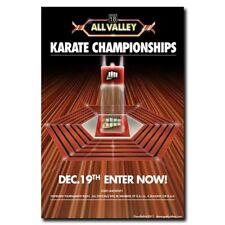 All Valley Karate Championship 24x36inch Classic Movie Silk Poster Art Print
