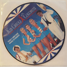 """KID CREOLE COCONUTS - There's Something  7"""" Vinyl *PIC DISC* *MINT* (P&P OFFER!)"""
