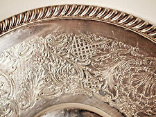 Mid Century Silverplate 12''Tray-Platter by English Silver Mfg. Co. made in USA