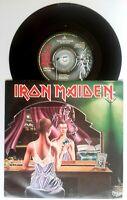 "EX/EX IRON MAIDEN 1981 TWILIGHT ZONE / WRATHCHILD 7"" vinyl 45 (EMI 5145)"